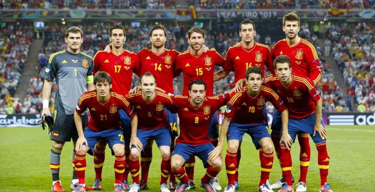 Девизы футбольной команды испании