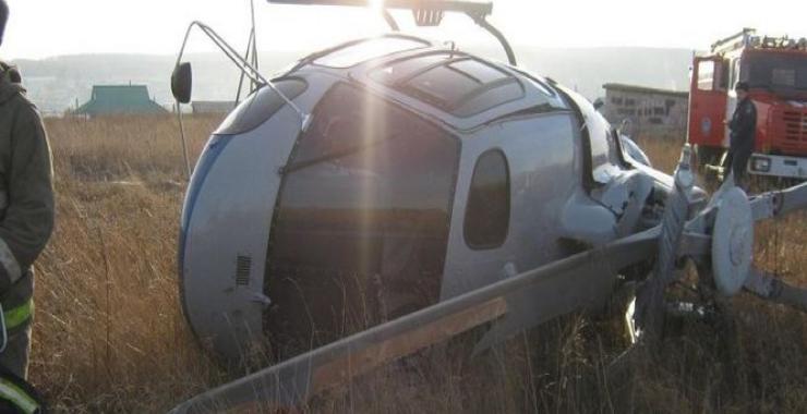 вертолет упал во владимире фото как