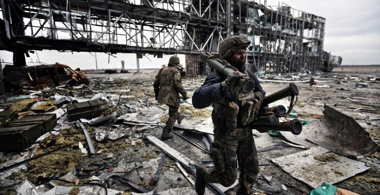 Сегодня в Украине - День память Киборгов. Фото: Sergei L. Loiko Los Angeles Times