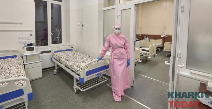 Больных коронавирусом везут в область: в Харькове занято 90 % мест в опорных больницах